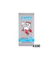 ZAPPY ALCOHOL WIPES 100 Sheets