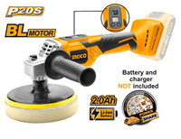 INGCO 20V Lithium-ion Angle Polisher (BARE UNIT)
